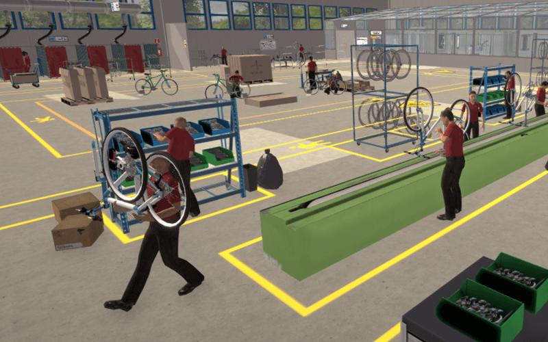 Recorrido Virtual Planta de Ensamble de Bicicletas