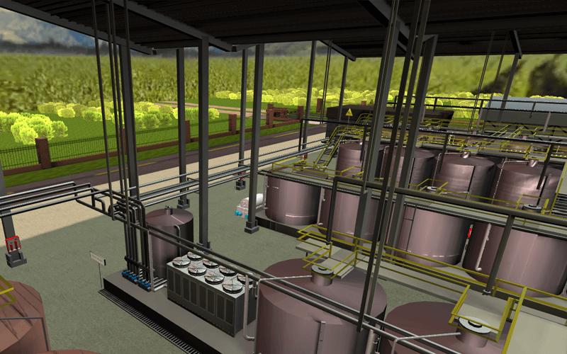 Recorrido Virtual Planta de Producción de Vino