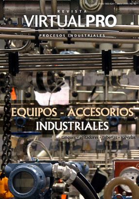 Equipos y accesorios industriales - Tanques, agitadores, tuberías, válvulas