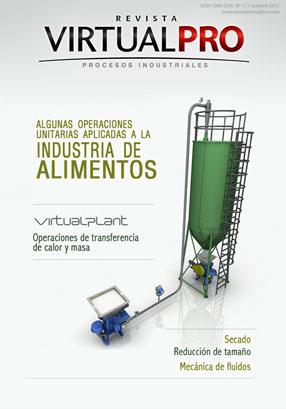 Algunas operaciones unitarias aplicadas a la industria de alimentos