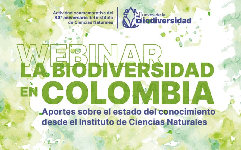 Webinar: La Biodiversidad en Colombia