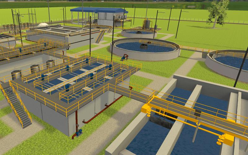 Planta de tratamiento de aguas residuales (PTAR)