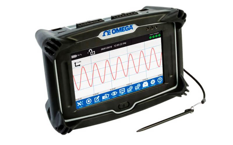 Registrador de datos OM-DAQXL. Fuente Omega