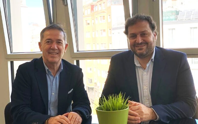 Manuel Serrano y David López. / UOC