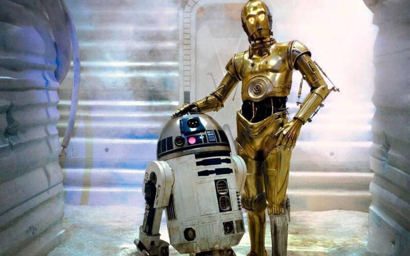 En la foto C-3P0 y R2-D2. / Zonared