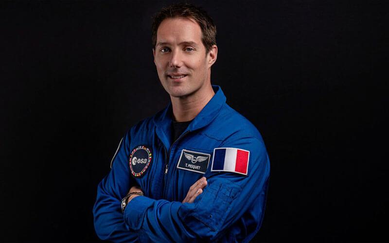 © ESA/Nicole Fischer. / El astronauta francés Thomas Pesquet.