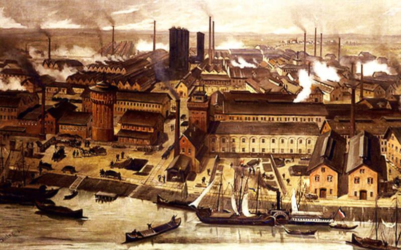 Factoría química. /  Wikipedia