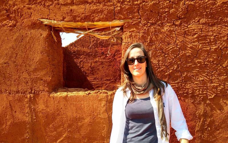 Ana Benítez. / Foto cedida por la autora