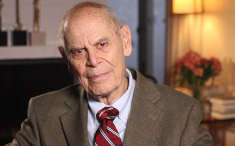Gerald Holton. / Fundación BBVA