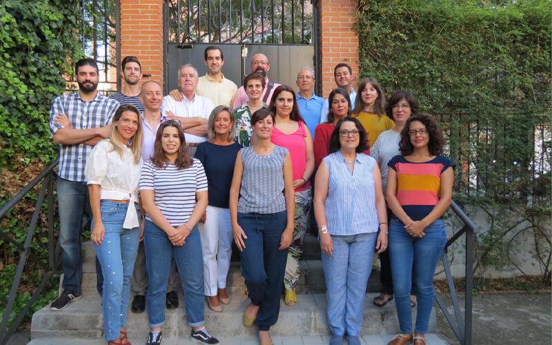 Equipo de investigadores de la Universidad de Granada que ha realizado este estudio.