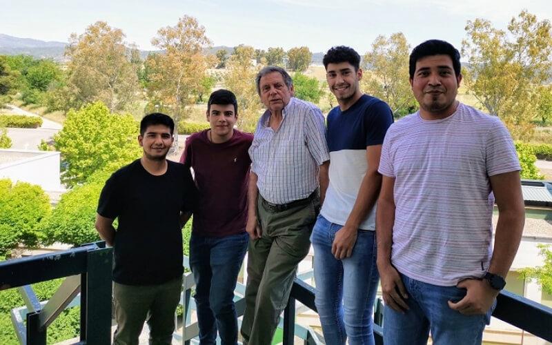 Grupo de investigación de la Universidad de Córdoba. / Fundación Descubre