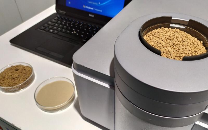 Tecnología NIRS para conocer el ADN de la biomasa. / Fundación Descubre
