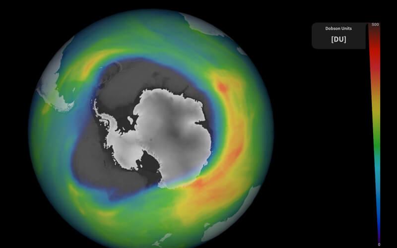 El agujero de la capa de ozono vuelve a ser más grande que la Antártida