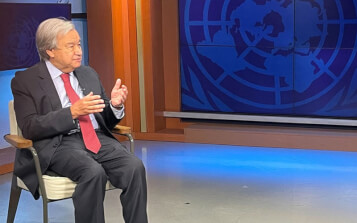 El mensaje de António Guterres a los líderes mundiales: -Despertemos, cambiemos de rumbo, unámonos-