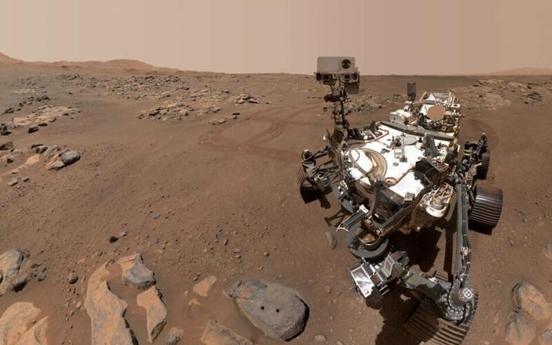 Un 'selfie' del rover Perseverance en la superficie de Marte. / NASA/JPL