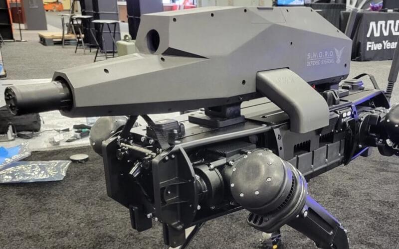 Francotiradores de cuatro patas: una empresa monta un rifle de precisión en el robot Spot de Boston Dynamics